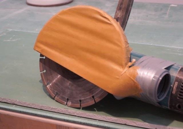 Самодельный кожух с пылеотводом для УШМ - фото 3