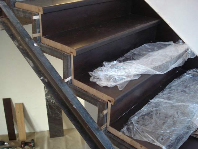 Лестницы из металла сделать своими руками