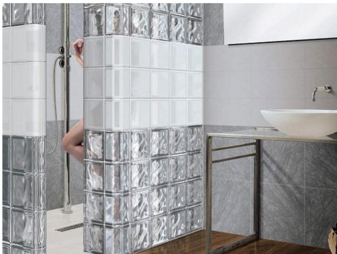 толщина стеклоблоков для ванной комнаты какие бывают