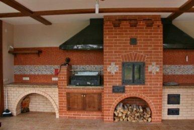 Мангальный комплекс для кухни.