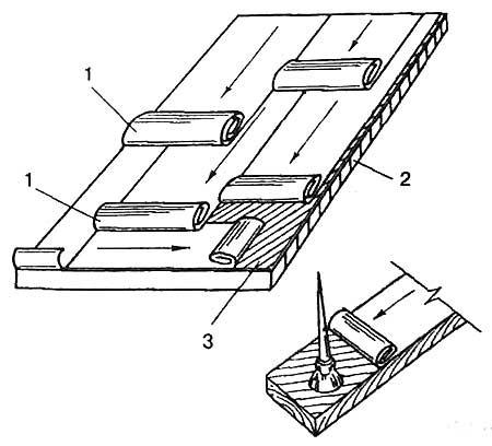 Как покрыть крышу на даче рубероидом своими руками