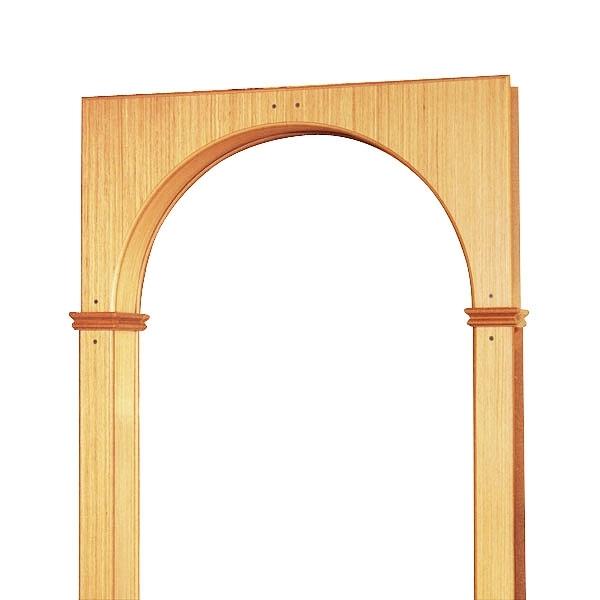 Межкомнатные деревянные арки своими руками