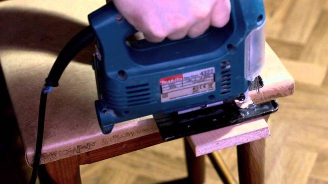 Как распилить лдсп лобзиком без сколов в домашних условиях