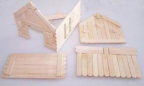 Из чего можно сделать домик своими руками