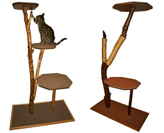 Когтеточка для кошек из дерева своими руками 23