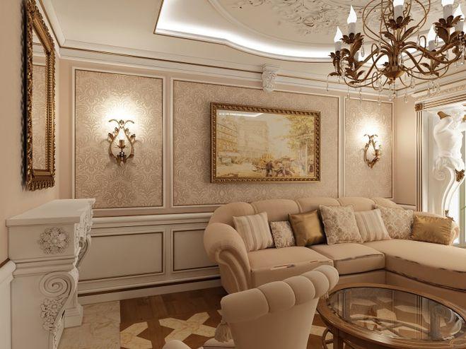 Обои какого цвета подойдут к коричневой мебели