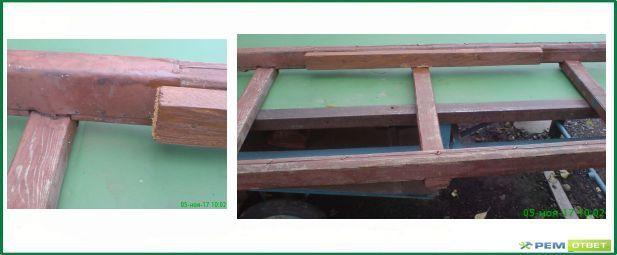 ремонт деревянной лестницы