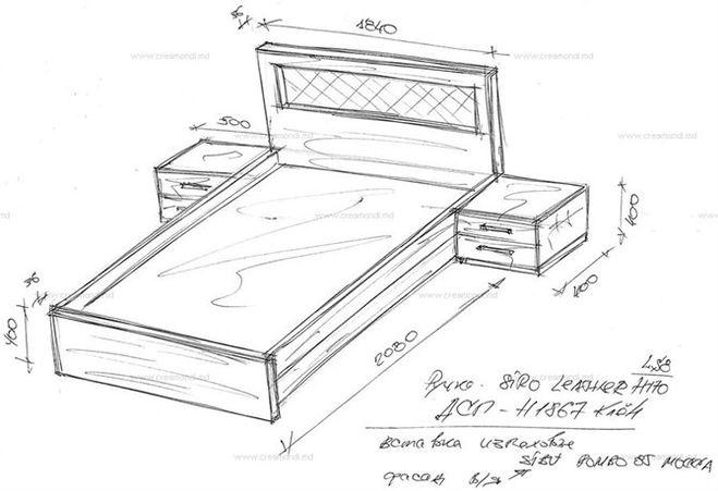 Двуспальная кровать из дсп своими руками чертежи фото