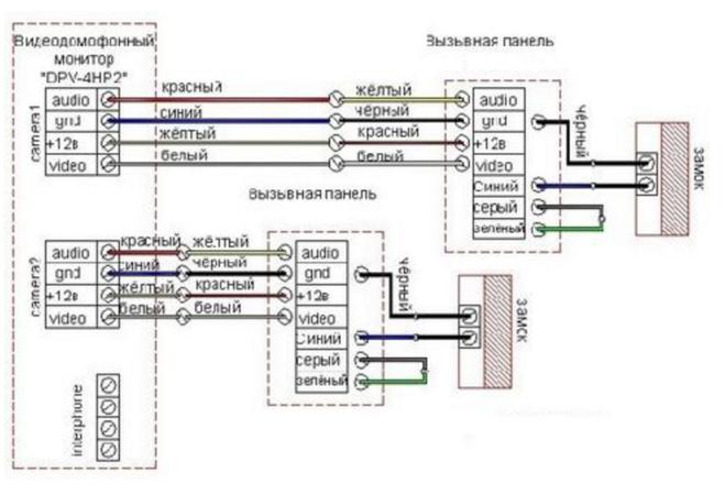 commax dp-2s схема принципиальная