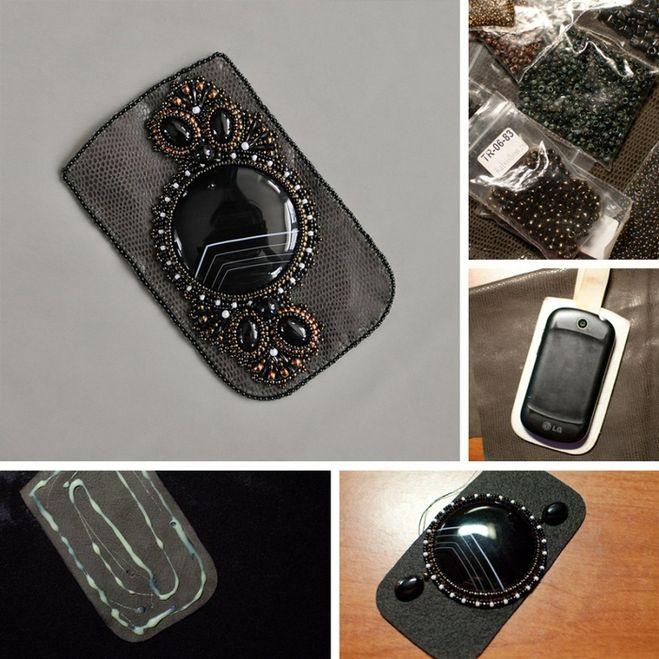 Как сделать кожаный чехол для телефона своими руками