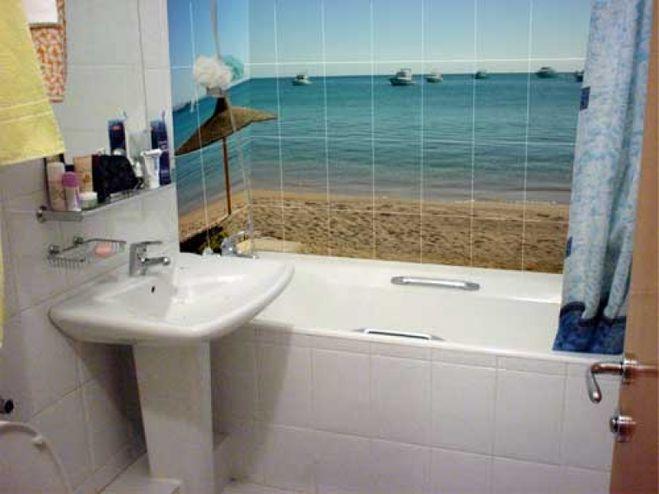 панно для маленькой ванны