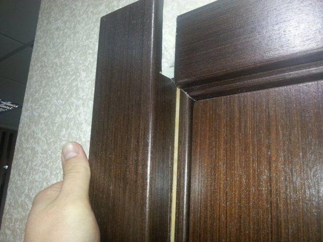 Как приделать наличники на межкомнатные двери