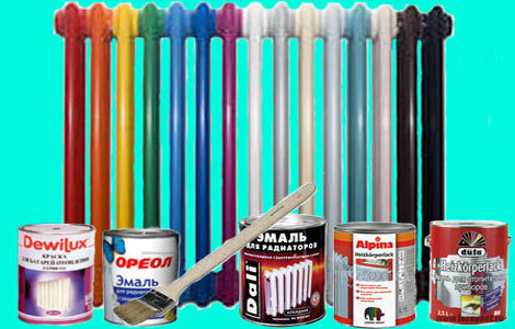 Можно ли красить батареи в отопительный сезон