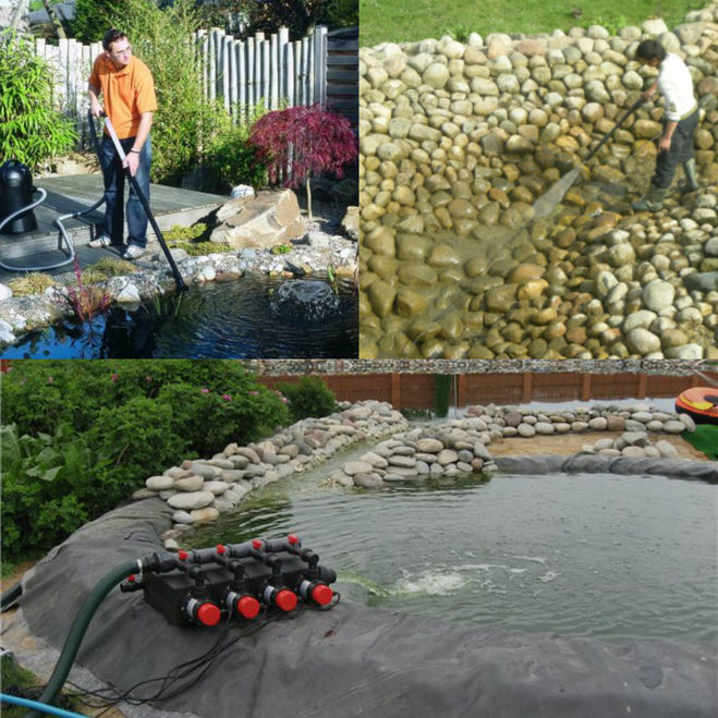 очистка водоема