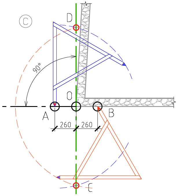 Как сделать прямую стену