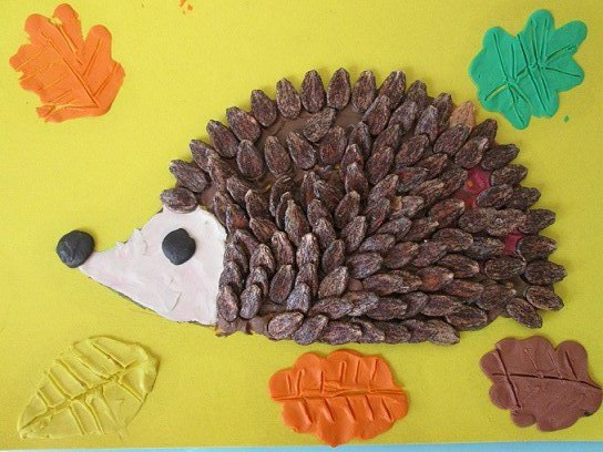 Какие поделки можно сделать из арбузных семечек своими руками