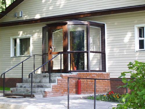 крыльцо-тамбур в частном доме фото