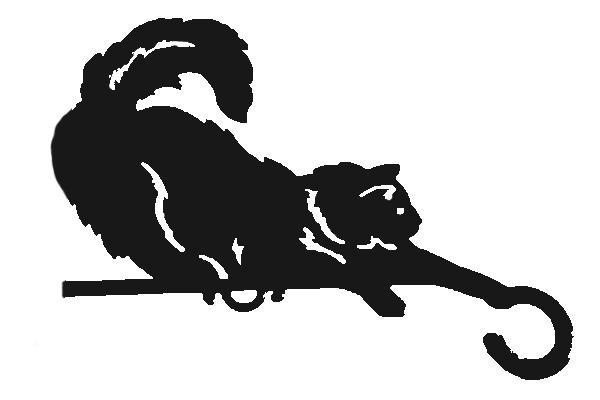 Чертежи флюгера кота