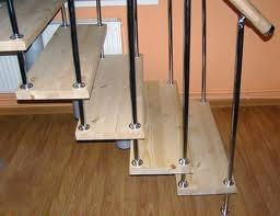 Купить деревянную площадку для лестницы в Москве - Дилект