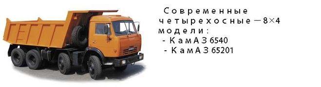 Современные КамАзы.