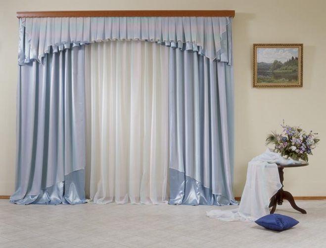 рекомендуемая длина штор