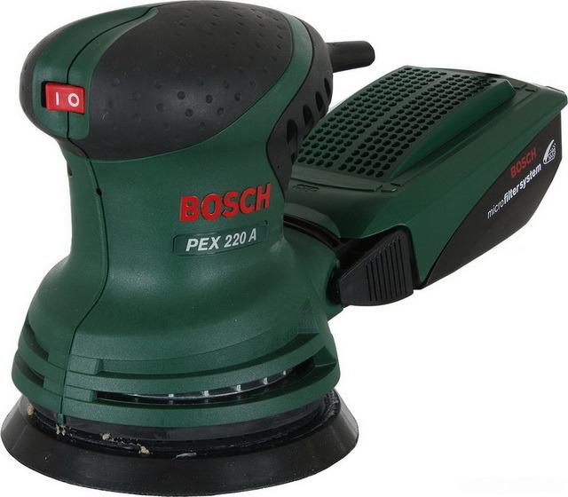 Шлифовальная машина Bosch PEX 220 A.