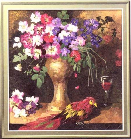 картины из сухих цветов и трав