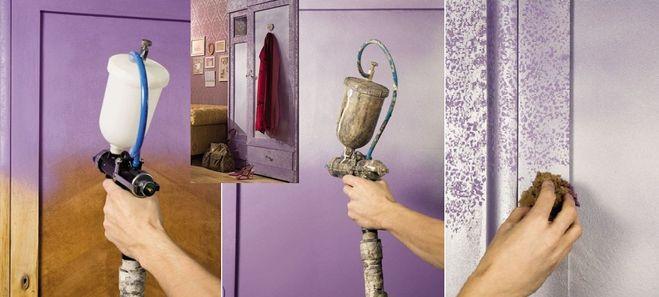Как обновить шкаф из дсп своими руками с помощью обоев 118