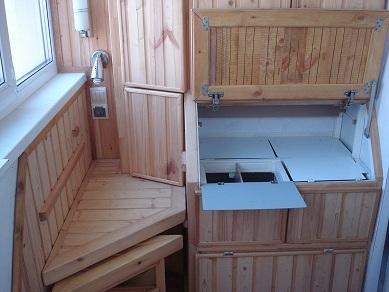 Шкаф с табуретом. Отд для овощей