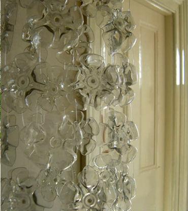 шторы из пластиковых бутылок