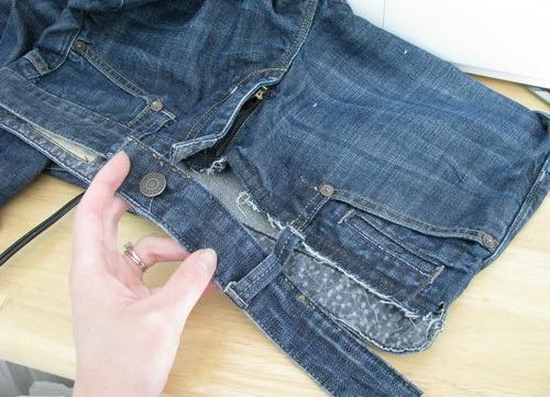 Беременные джинсы своими руками
