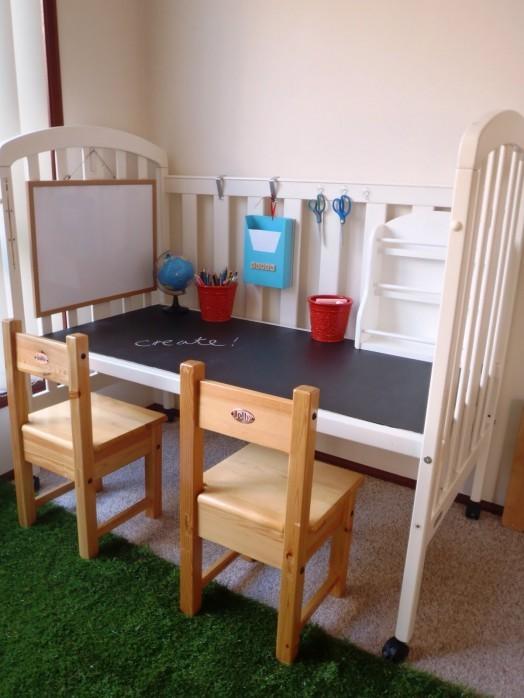 стол из детской кроватки