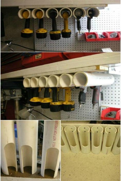 подставка для инструмента в гараж, мастерскую