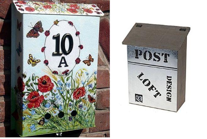 Декоративный почтовый ящик своими руками 5