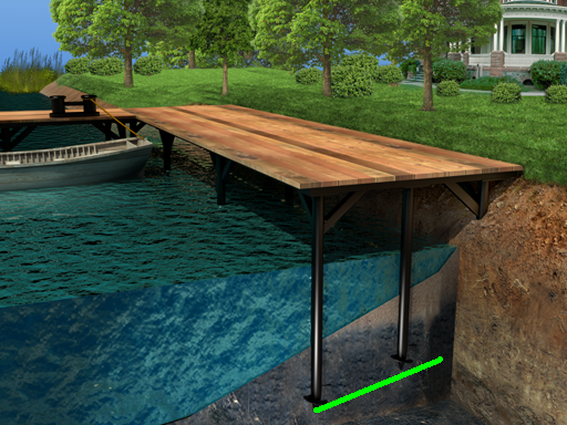 Как сделать мостки в пруд 60