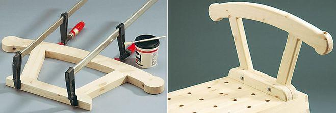 Как сделать люльку из дерева