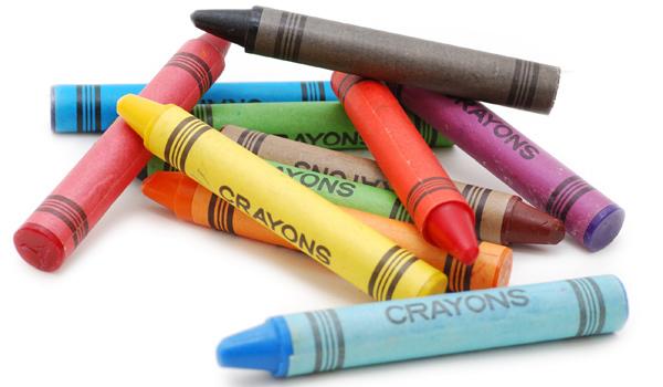 восковой карандаш