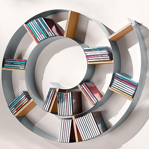 Как можно сделать полку для дисков