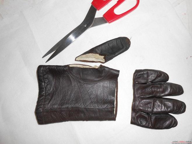 Кожаный чехол для сотового телефона своими руками