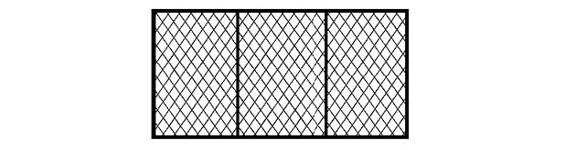 усиленная секция из сетки рабицы