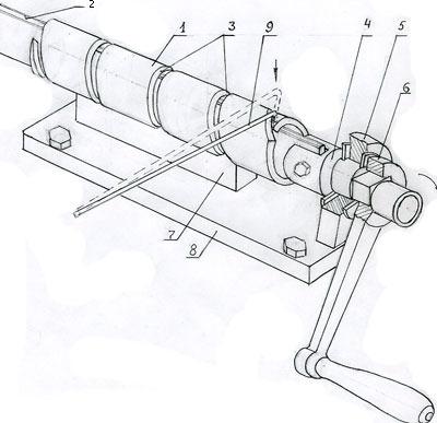 Как самому сделать станок для сетки рабица