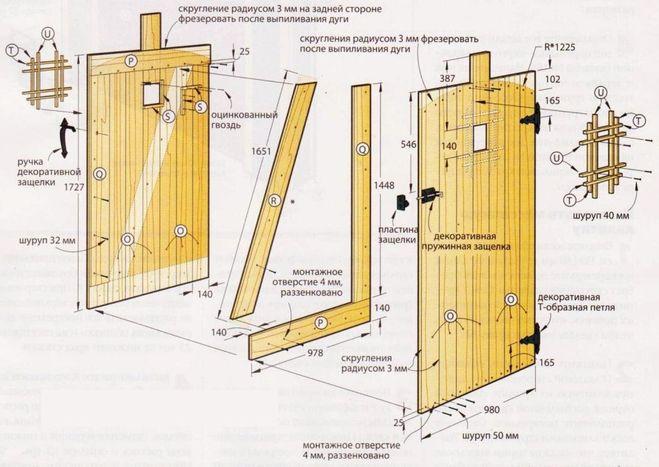 Как сделать ворота и калитки своими руками