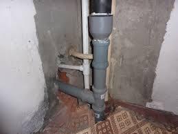 Лопнул тройник канализации
