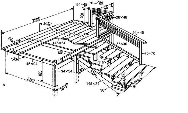 Модели и разновидности деревянных 10