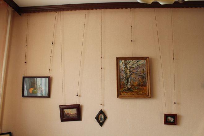 рама карниз для фото и картин, без сверления стены