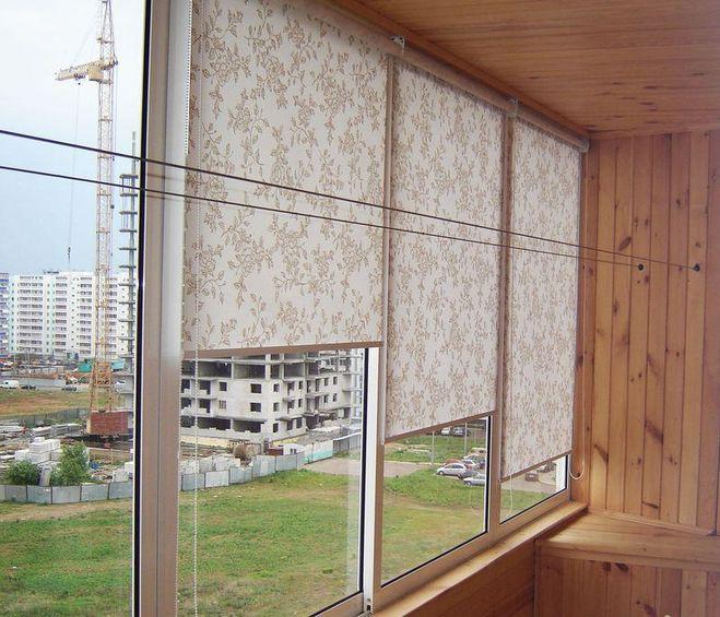 современное оформление балкона-лоджии