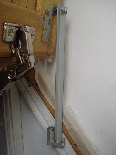 Двери ножницы своими руками