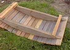 Как сделать мостик на даче своими руками из прутьев