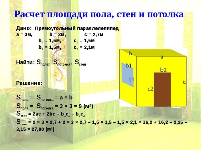 Что такое квадратура в строительных и ремонтных работах, как посчитать квадратуру?