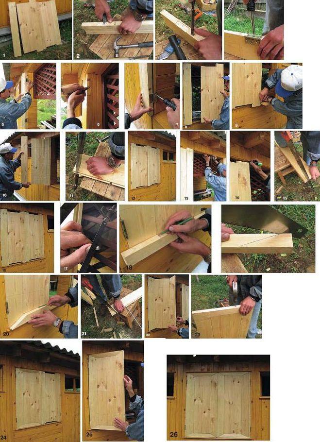 Дачные деревянные окна своими руками 21
